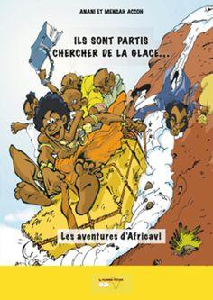 Jeune prince Ewé d'un petit village d'Afrique occidentale, Africavi est le fils du roi Africato, fasciné par la culture européenne. Lors d'une période de sécheresse, une expédition est organisée en Europe afin de ramener le fameux produit aux effets refroidissants : la glace. Cette quête conduit nos amis à travers bien des périples. Récit d'aventures burlesques, Africavi se veut le témoin du choc des cultures que fut la rencontre entre l'Occident et l'Afrique. Auteurs : Anani Accoh, Mensah…