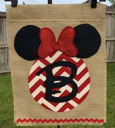 Disney themed Garden Flag / Door Hanging by LillieAustinDesign, $35.00