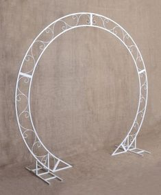 Ceremony – round wedding arch height, Passable circle wedding arch, Metal circle wedding backdrop, Flower arch Moon gate - Healthy Tutorial and Ideas Metal Wedding Arch, Metal Arch, Ceremony Arch, Wedding Ceremony, Diy Wedding, Wedding Flowers, Decor Wedding, Wedding Suite, Moon Wedding