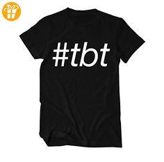 TBT Fun T-Shirt Herren Small Schwarz (*Partner-Link)
