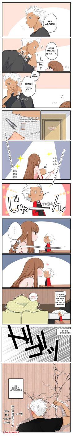 Hahaha that's cute