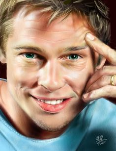 My humble artworks (by David Chong) Liked · Thursday, April 18 at 1:43am   iPad painting of Brad Pitt. Drawn with Procreate app. Photo reference: http://www.facebook.com/l.php?u=http%3A%2F%2Fwallsdekstop.blogspot.sg%2F2012%2F02%2Fbrad-pitt-wallpapers.html=fAQEyjrjo=1