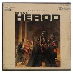 Box The Play of Herod – A Medieval Musical Drama – Duplo Importado