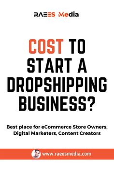 Drop Shipping Business, Ecommerce Store, Digital Marketing, The Creator
