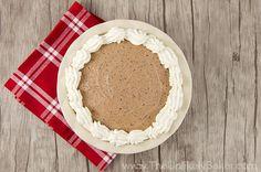 No Bake Baileys Chocolate Mousse Pie