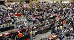 The federal Bureau of Alcohol, Tobacco, Firearms and Explosives has estimated that 5,000 gun shows are held annually in the United States, attracting tens of thousands of attendees and resulting in the transfer of thousands of firearms.