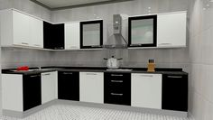 Small l shaped kitchen design ideas large size of designs modern pictures kitchens with islands k . small l shaped kitchen design india . L Shaped Kitchen Interior, Modern L Shaped Kitchens, L Shaped Modular Kitchen, L Shaped Kitchen Designs, Kitchen Designs Photos, Interior Design Kitchen, Kitchen Images, Interior Paint, Modern Kitchen Cabinets