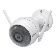 An outdoor Smart WiFi Camera featuring dual WiFi antennas, the EZVIZ Network Outdoor Camera looks out for your property while reliably staying connected. Wi Fi, Outdoor Camera, Wifi Antenna, Full Hd 1080p, Bullet Camera, Flat Panel Tv, Cameras For Sale, Camera Sale, Thing 1