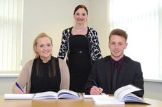 Alan & Thomas Insurance are proud of Autum and Nick - apprentice Insurance Brokers!