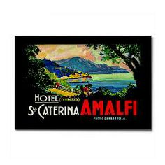 Amalfi Fridge Magnet £3.50/$4.39 www.creamtees.net #kitchenalia #stockingfiller #worldwideshipping
