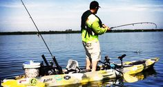 Phat Fish Kayak Charters - providing the best possible Tampa, Florida kayak fishing Trip or Charter every time out. Fishing Kayak Reviews, Best Fishing Kayak, Fishing Charters, Time Out, Kayaking, Florida, Good Things, Platform, Link