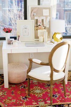 Home office dreams. | The Preppy Yogini