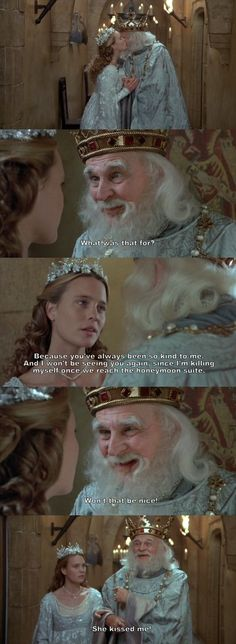 Scenes like this one make me wonder how anyone could NOT like The Princess Bride. - Movies i love - Bride Love Movie, Movie Tv, Movie Scene, Tv Quotes, Movie Quotes, Lyric Quotes, Funny Quotes, Funny Movies, Great Movies