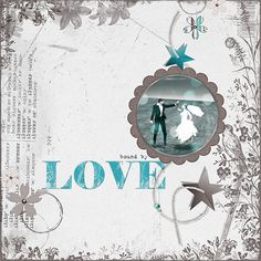 Amanda@Scrapgirls  Love the bokeh photo and the teal with the neutral cream and brown