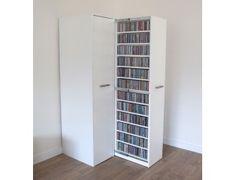 Apothekerskasten voor zeer grote collecties CD en DVD