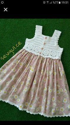 Canesu vestido nena