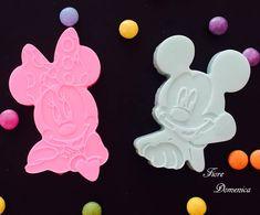 Χειροποίητα σαπουνάκια Mickey & Minnie Mickey & Minnie σαπούνι για λάτρεις της disney! Ice Tray, Disney, Disney Art