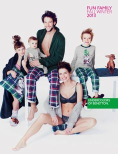 Benetton-femme-enfant-homme-Lingerie-fw-Hiver-2013-2014-00