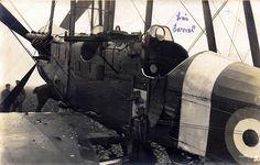 British BE2d light bomber after a forced landing. December 1916 by drakegoodman, via Flickr