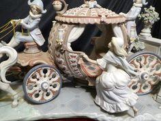 Lladro Stroke of 12 Cinderella's Departure