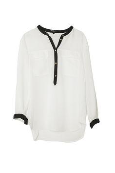 La blusa blanca