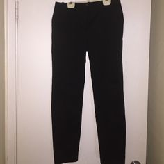 Black straight leg pants. Black straight leg pants. Body by Victoria. Size 6. About 35 inches long. Pants Straight Leg