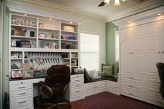~ Pacific Custom Design ~ Neat & tidy built ins by