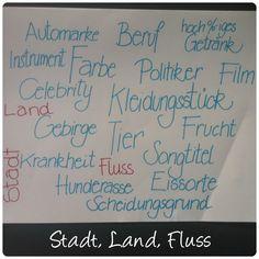 "21 papercraft ideas ""Stadt, Land, Fluss"" mit lustigen Kategorien"