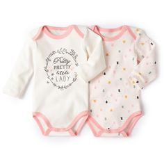 Pack of 2 Long-Sleeved Cotton Bodysuits R baby : price, reviews and rating, delivery. Long-sleeved bodysuit. Easy to slip on with cutaway shoulders. Sold in packs of 2: 1 printed with Christmas trees + 1 plain with motif on the front. Press-stud inside leg. 100% cotton. KEEP AWAY FROM FIRE.