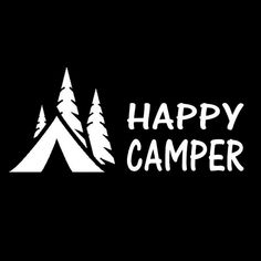 Find More Stickers Information about Happy Camper Camping Decal Sticker For Car Truck Suv Van Laptop Tent Wall,High Quality sticker for car,China decal sticker Suppliers, Cheap for car from lhcy Store on Aliexpress.com