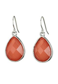 Faceted Bead Drop Earring available at #Maurices