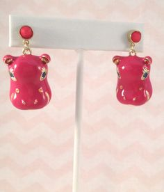 """""""Hippo"""" Earrings"""
