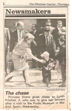 Charles & Diana Royal Tour of Spain - Avril 1987 _ Suite
