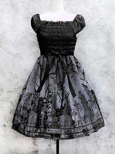 Graveyard dress