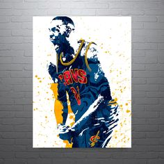 LeBron James Cleveland Cavaliers Poster