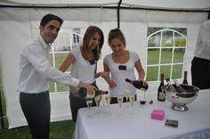 Notre équipe Ackerman ! Vins, saveurs et bonne humeur...