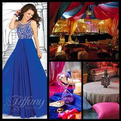 Arabian night prom theme.