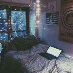 Image via We Heart It https://weheartit.com/entry/153030339 #bedroom #black…