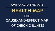 HEALTH MAP - THE CAUSE-AND-EFFECT MAP of CHRONIC ILLNESS