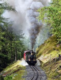 Die historische Furka-Dampfbahn (c) pixabay