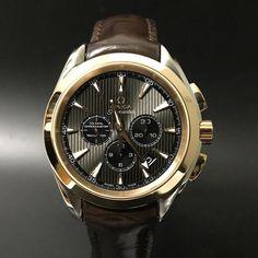 Omega Seamaster Aqua Terra Chronograph. #watchporn #watchmania #wristwatch #watchoftheday #timepiece #secondhand #instawatch #secondoriginalwatch #jamtanganseken #preownedwatch #luxurywatch. www.mulialegacy.com