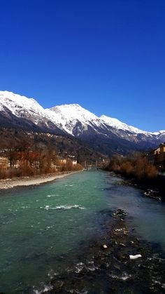 Innsbruck-the Inn river Innsbruck, Alps, Austria, River, Mountains, Nature, The Great Outdoors, Rivers, Mother Nature
