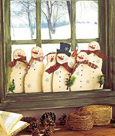 Fensterdeko für Weihnachten - Haben Sie schon zu Hause alles weihnachtlich dekoriert? Sind Sie sicher, Sie haben nichts vergessen? Wie sieht es mit Ihren...