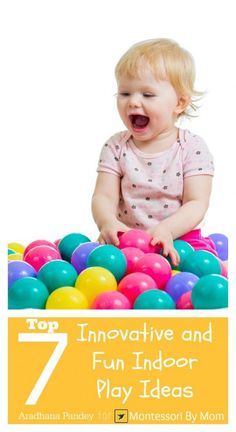 Now that it's getting colder, I am checking out indoor play ideas. Here are some good ones.