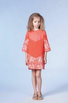 gorgeous orange dress