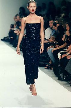 90s kate moss Narciso Rodriguez - Ready-to-Wear - Runway Collection - WomenSpring / Summer 1998