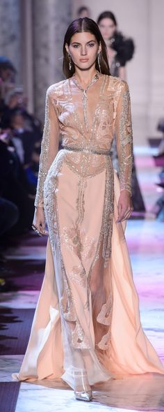 Elie Saab Spring-summer 2018 - Couture - http://www.orientpalms.com/Elie-Saab-7033 - ©ImaxTree