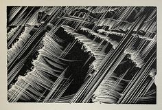 """Lynd Ward - Wood Engraving for Alec Waugh's """"Hot Countries"""" - 1930 