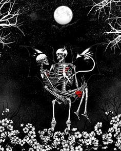Mr Skull, Skull Art, Skulls, Skeleton Love, Skeleton Art, Skull Wallpaper, Dark Wallpaper, Dark Drawings, Dark Love