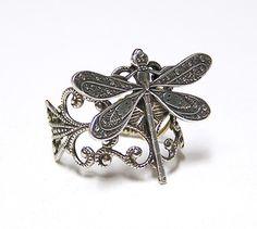The Dragonfly symbolizes my man, Jerame :)